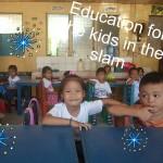 ありがとうございます!3日で45%達成!フィリピンのスラムの子供たちへ英語教育を