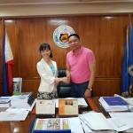 フィリピン★ブトゥアン市の市長との会談が無事におわりました!