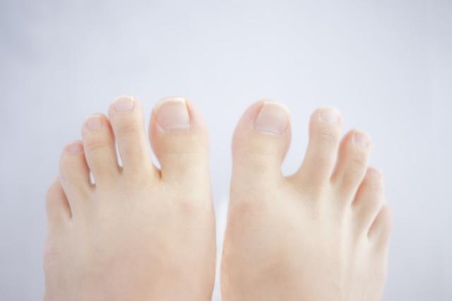 足の指への意識について